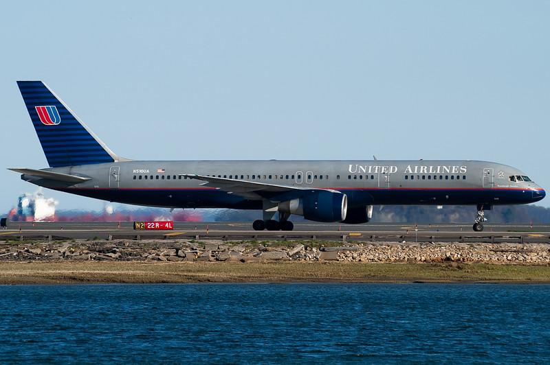 United also operates many 757s into Boston.