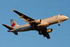 An Air Canada Embraer E-175 on final for runway 27.