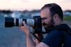 Tony Printezis with Canon 70-200 f/4 L IS.