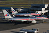Two great American planes, the 737 and 757, are frequent visitors to BOS from American Airlines.