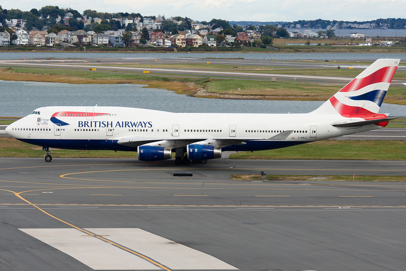 10 years of doing good special stickers on this British Airways 747.