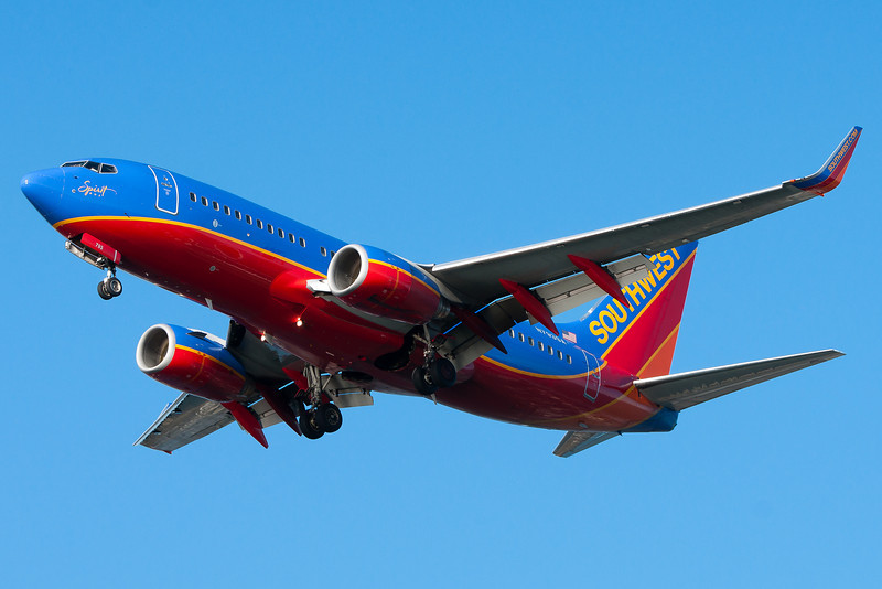 Spirit One has the distinction of being the first Southwest aircraft to sport the Canyon Blue colorscheme.