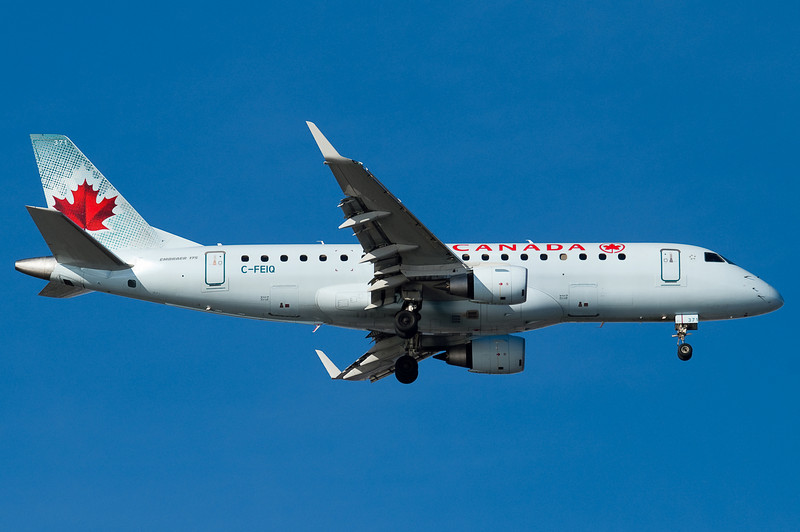 Air Canada's E-175s are the only mainline service to BOS.