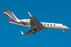 A NetJets Gulfstream IV on final for 4R.