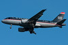 US Airways A319 on final for 04R.
