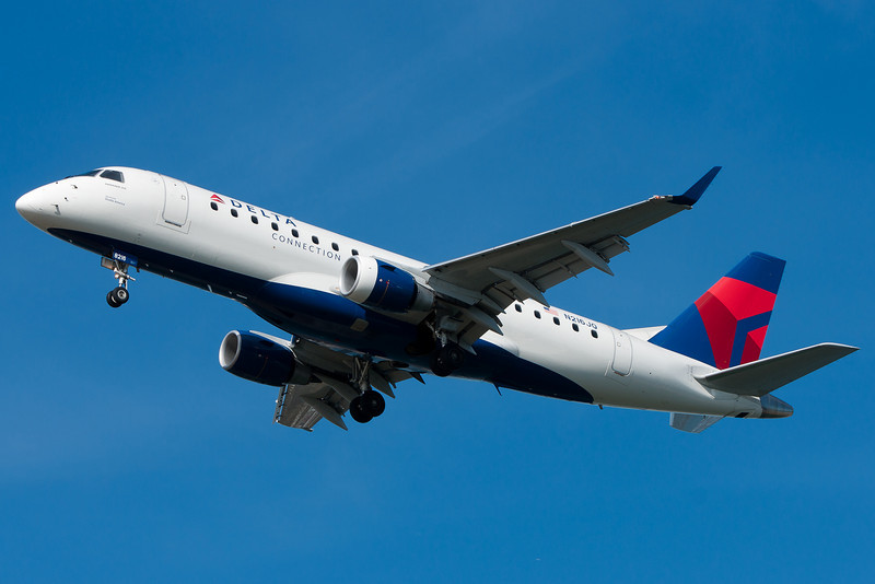 Delta has downgraded their BOS-LGA shuttle to Embraer equipment, operated by Shuttle America.