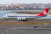 The Cargolux painted Boeing 747-8F Freighter visited Boston today to do approach and landing tests.