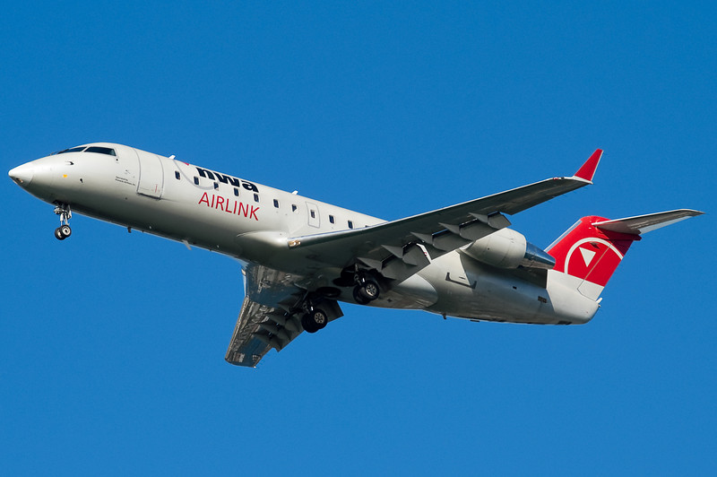Northwest's Pinnacle carrier operates CRJ-200s from BOS.