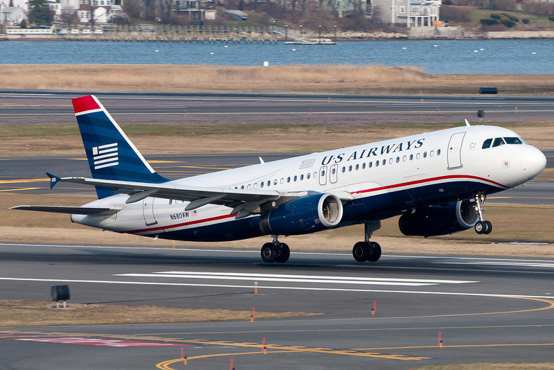 Rotation achieved for this US Airways A320.