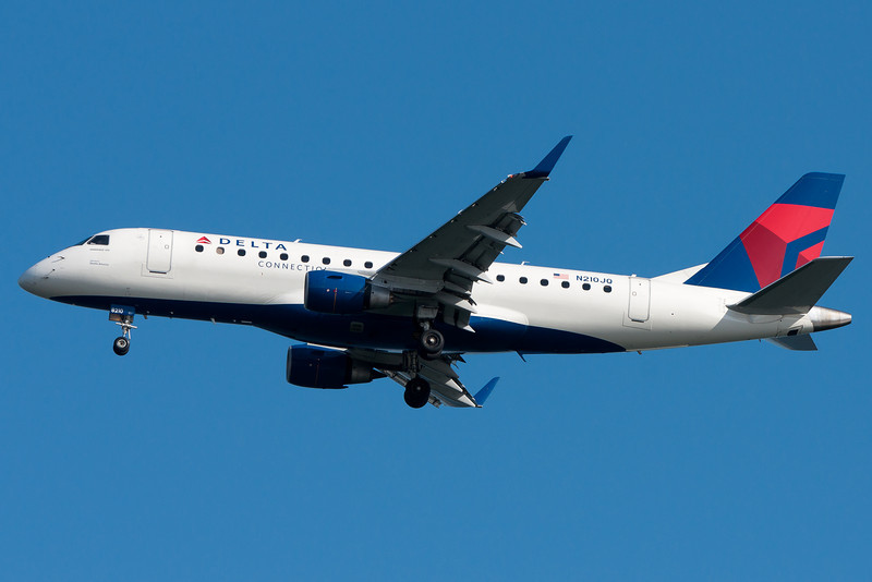 Delta uses Embraer E-175s for their shuttle service to New York.