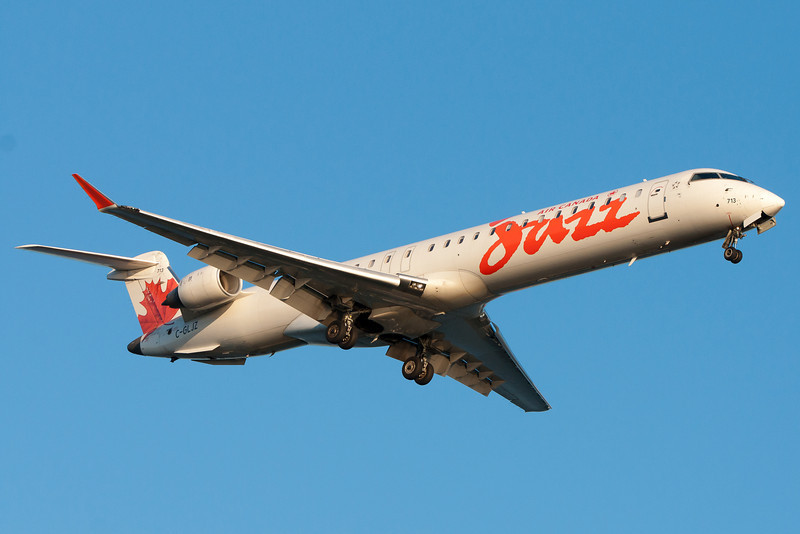 Air Canada has CRJ-705s, which are really CRJ-900s with less seats to fit in a scope clause.