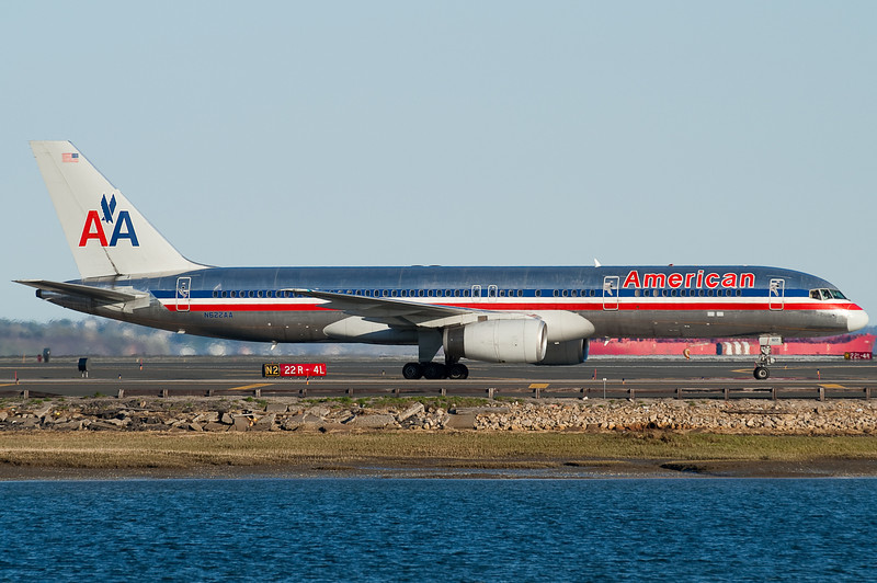 American uses Rolls Royce power on its 757s.