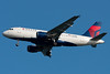 Another Freshly painted Delta Airbus on final for runway 04R.