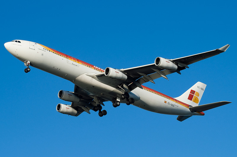 Ibera had just restarted its A340 service to BOS at the time of this photo.