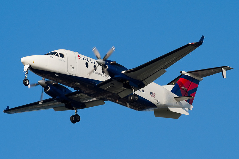 For a period of time Big Sky Airlines and Delta ran a codeshare operation based out of BOS for essential air service. Unfortunately, this service only lasted a few months and died out on January 7, 2008.