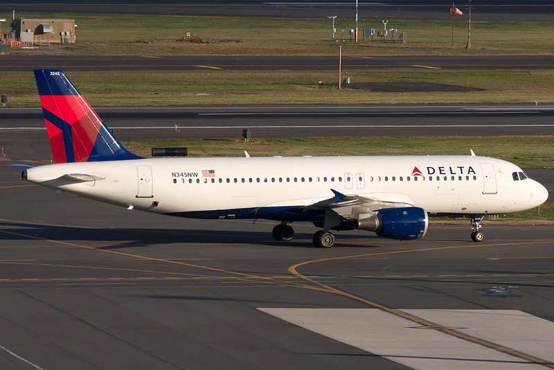 A former Northwest, now Delta, Airbus A320.