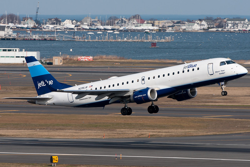 JetBlue is currently the largest carrier at BOS in terms of movements.