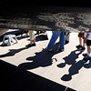 """People wait in line to look inside the 1943 Beechcraft SNB-S/UC 45 J, WWII aircraft.<br /> Boulder Municipal Airport hosted the 6th annual Airport Day on Saturday.<br />  For more photos  a video from airport day, go to  <a href=""""http://www.dailycamera.com"""">http://www.dailycamera.com</a>.<br /> Cliff Grassmick / June 18, 2011"""