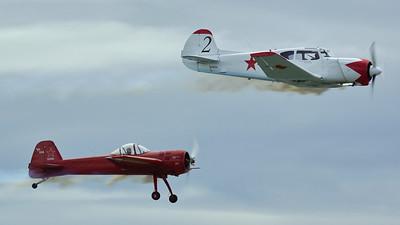 Yak 55 (red) & Yak 18 (white) Bud & Ross Granley