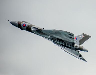 Vulcan soars away