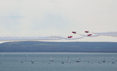Red Arrows crossing Day 3