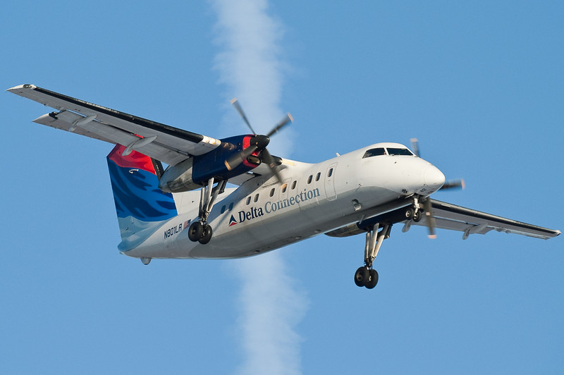 Freedom Air Delta Connection service to JFK on these Dash 8s was short lived.
