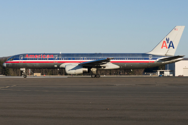 American's A300 service to San Juan was downgraded to 757s by this time.
