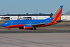 This Southwest 737 is taxiing for departure on Runway 6.