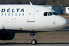 Taxiing to terminal A, we get a close up of the Delta A319.
