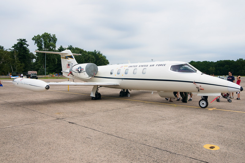 The current mission of the CT ANG is these guys, Learjets for transporting VIPs.