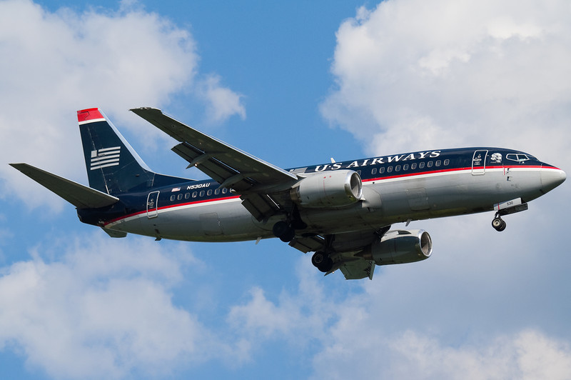 This US Airways 737 could have used a new coat of paint at the time.