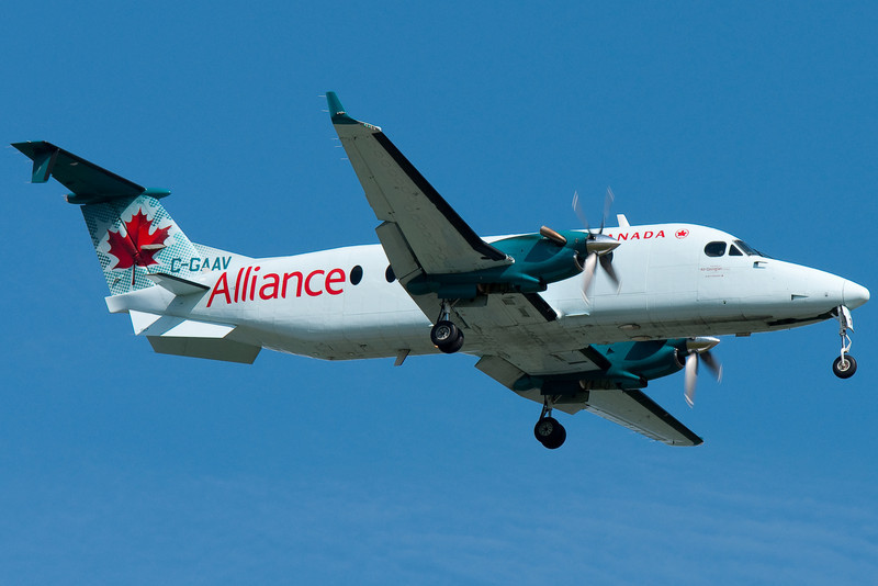 More and more Beeches are showing up in the new Air Alliance scheme.