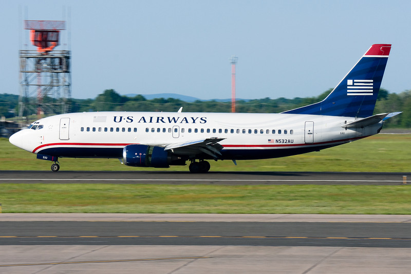 A US Airways 737