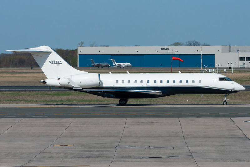 This Global Express decided to take a different route to the TacAir FBO.