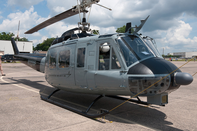 A funny looking Lockheed helicopter.