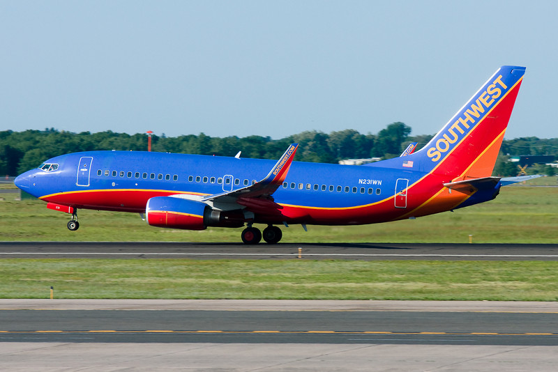 Rotation for Southwest from runway 33.