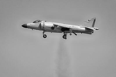 British Aerospace FA2 - Sea Harrier - Chicago Air & Water Show - Chicago, Illinois - Photo Taken: August 18, 2013