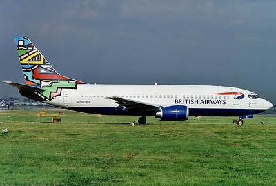 British Airways (GB Airways) Boeing 737-3L9 London - Gatwick (LGW / EGKK) UK - England, July 1999 Reg: G-OGBD Cn: 27833/2688