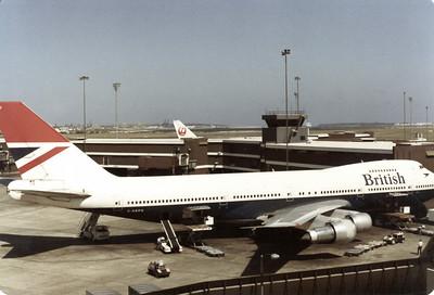 G-BBPU BRITISH AIRWAYS B747-200