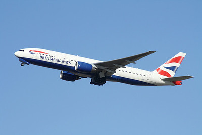 G-YMMP BRITISH AIRWAYS B777-200