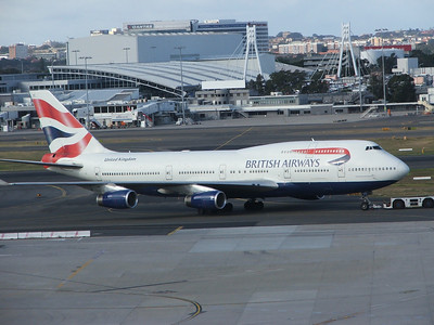 G-CIVE BRITISH AIRWAYS B747-400