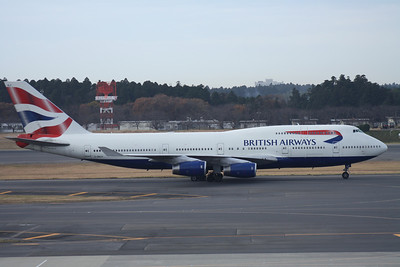 G-BNLP BRITISH AIRWAYS 747-400
