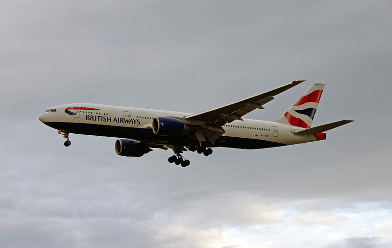 G-YMMK BRITISH AIRWAYS B777-300