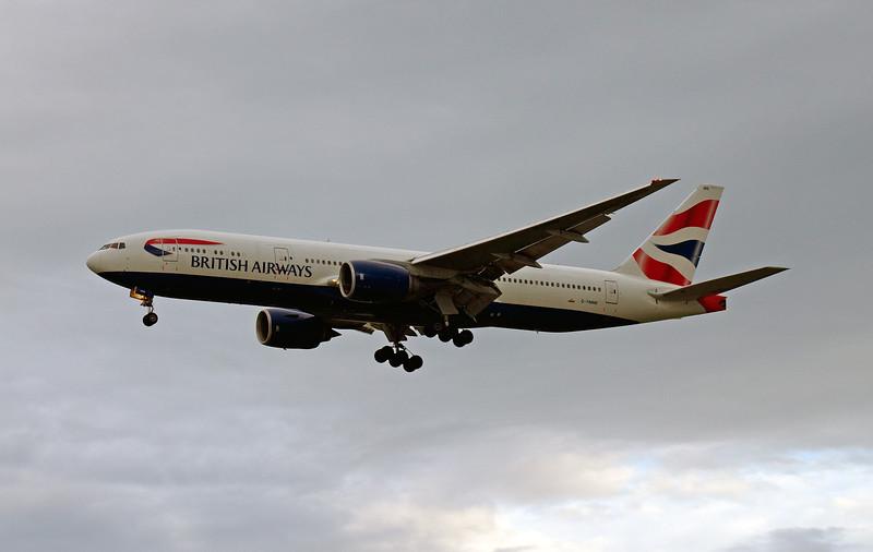 G-YMMK BRITISH AIRWAYS B777-300