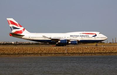 G-BNLL BRITISH AIRWAYS B747-400