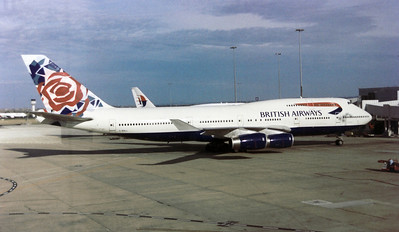 G-BNLL BRITISH AIRWAYS B747-400