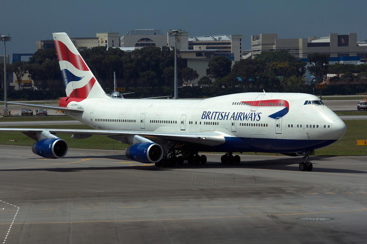 G-CIVS BRITISH AIRWAYS B747-400