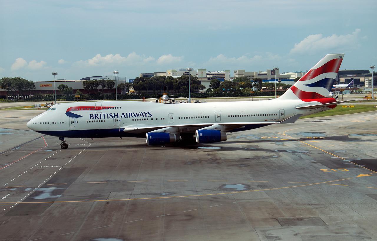 G-BYGC BRITISH AIRWAYS B747-400
