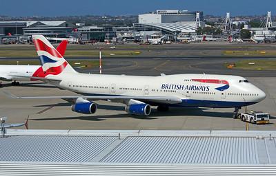 G-BNLX BRITISH AIRWAYS B747-400