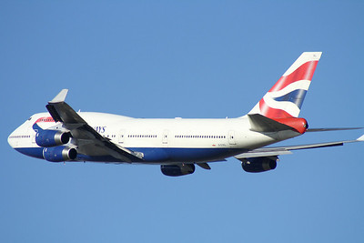 G-CIVL BRITISH AIRWAYS B747-400
